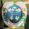 Детская мягкая накладка для унитаза  Aqua Fairy, фото 3