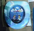 Детская мягкая накладка для унитаза  Aqua Fairy, фото 4