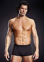 Трусы-боксеры мужские Microfiber Pinstripe Trunk Black, S/M, L/XL