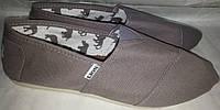 Кеды тапки слипоны p40 LION сер