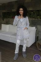 Женская пижама и теплый халат Hays 6073. Коллекция одежды для дома HAYS Зима 2017