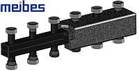 Коллектор Meibes на 5 отопительных контуров ( из черной стали) 66301.3