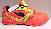 Кроссовки футбольные - футзалки - футбольные бутсы - обувь для мини футбола оранжевые Nike NI0127