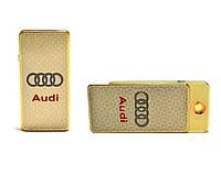 Электроимпульсная зажигалка USB AUDI Elite