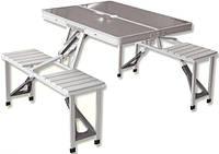 Раскладной столик со стульями KINGCAMP DELUX PICNIC SET KC3864