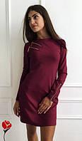 Платье женское Флер бордо , женская одежда