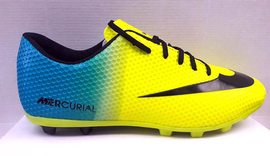 9553855d Кроссовки футбольные для подростков Nike CTR желтые NI0116: продажа ...