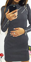 Платье женское Флер графит , костюм женский