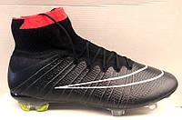 Футбольные бутсы Nike желтые черные NI0135