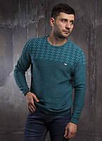 Осенний мужской свитер турецкого производства