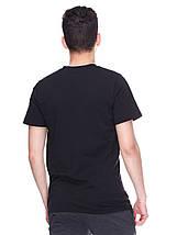 Модная футболка черная, мыс, фото 3