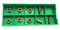 Пластины твердосплавные сменные 9 шт из цементированного карбида для набора токарных резцов из 9 шт 10х10 мм