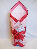 Конверт-одеяло 2 в 1 для новорожденной, фото 1