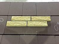Плитка декоративная скала, слоновая кость (размер250Х20Х65мм)