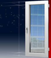 Металопластиковые балконные двери 2000*800