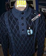 Мужской свитер на пуговицах