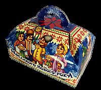 """Упаковка новогодняя """"Сундук Колядники"""" для сладостей 500-600 г"""