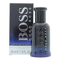 Мужская туалетная вода Hugo Boss Boss Bottled Night for Men Eu de Toilette (EDT) 30ml, фото 1