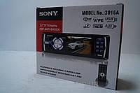 Магнитола MP4 Sony 3016a 3 дюйма экран, аудиотехника, магнитола для авто, аудиотехника и аксессуары, электрони