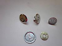 Кнопка - магнит 16 мм никель