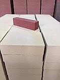 Узкий кирпич гладкий/колотый 2в1 (половинка) 250х53х65мм, фото 9