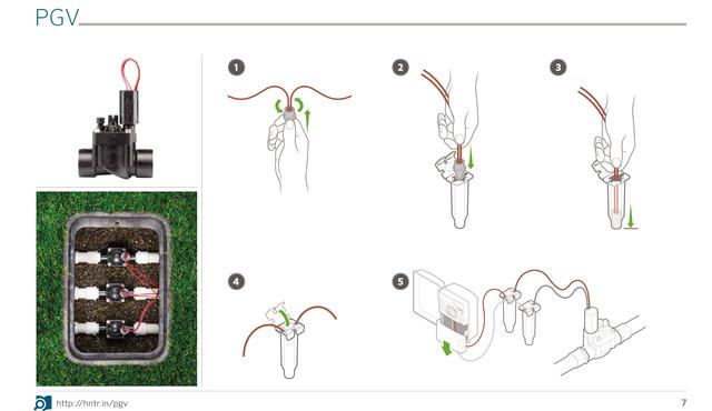 Инструкция PGV- монтаж электромагнитного клапана