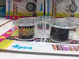 Набор декоративных скотч-лент 4шт. 12мм х 2,8м с диспенсером, фото 5