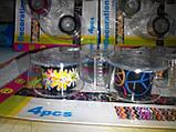 Набор декоративных скотч-лент 4шт. 12мм х 2,8м с диспенсером, фото 6