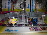 Набор декоративных скотч-лент 4шт. 12мм х 2,8м с диспенсером, фото 7