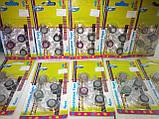 Набор декоративных скотч-лент 4шт. 12мм х 2,8м с диспенсером, фото 9