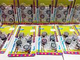 Набор декоративных скотч-лент 4шт. 12мм х 2,8м с диспенсером, фото 10