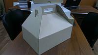Коробка с ручками 310х220х110, бурая, фото 1