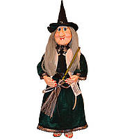 "Кукла-оберег ""Баба Яга"", исполнительница желаний на удачу"