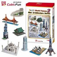 "3D-конструктор CubicFun ""Архитектура мира"" №2"