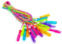 Скакалка детская с PVC жгутом FI-4866 (10шт в уп, цена за 1шт)  (длина - 2,7 м, толщина - 4,6 мм)