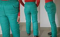 Детские теплые брюки для девочки