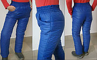 Детские теплые брюки для девочек