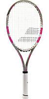 Теннисная ракетка Babolat Flow lite grey/pink Gr2