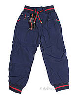 Штаны для мальчика на флисе Turkey 732 р.98 синий