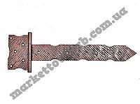 Петля дверная стрела кованная 750 (мм)