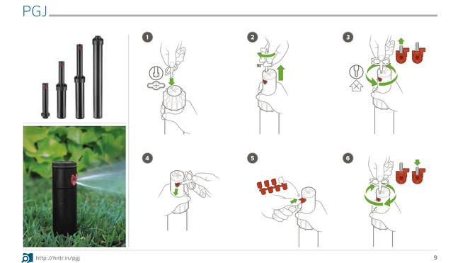 Инструкция в картинках PGJ