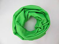 Салатовый шарф снуд