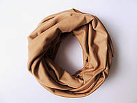Светло-бежевый шарф снуд