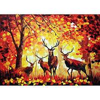 """Картина маслом """"Благородная осень"""""""