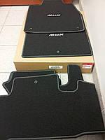 Acura MDX 2010-12 коврики в салон черные велюровые Premium новые оригинальные