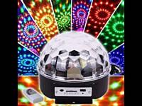 Magic ball music Диско шар Bluetooth с MP3 плеером