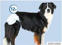 Памперсы для собак (все размеры) 12шт