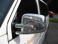 Накладки на зеркала (2 шт, пласт) - Volkswagen T4 Caravelle/Multivan