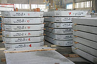 Плиты дорожного покрытия ж/б ПД 2-6