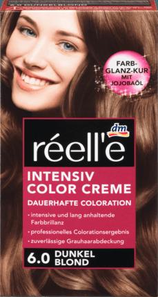 Крем - краска для волос réell'e Intensive Color Creme Dunkel Blond 6.0 (русый)